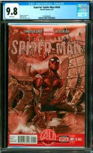 Superior Spider-Man #6AU CGC Graded 9.8