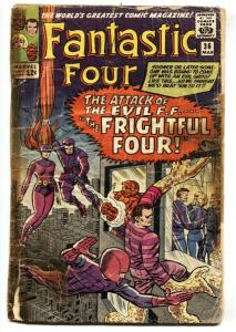 Fantastic Four #36 1965-1st appearance Medusa Frightful Four