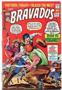 Bravados #1 1971-Red Mask-Durango Kid-Billy Nevada Western