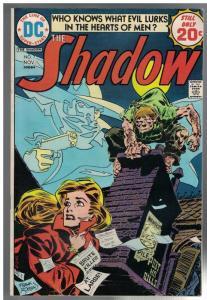 SHADOW  (1973) 7 VG+ Nov. 1974