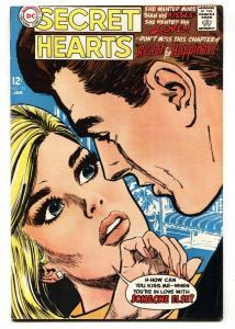 Secret Hearts #125 1968-DC romance comic book FN