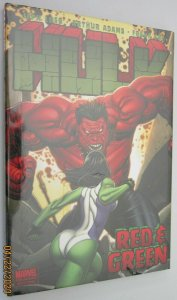 Hulk ''red and green'' HC #2 (small rip in cello) (2009)