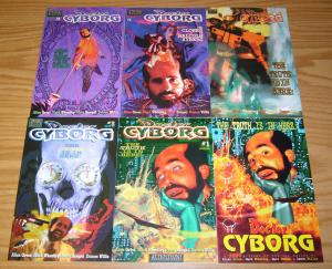 Doctor Cyborg #1-5 VF/NM complete series + preview - mark wheatley - marc hempel