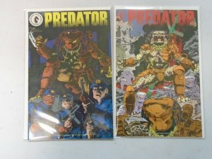 Predator #3+4 8.0 VF (1989-90 Dark Horse 1st Series)
