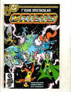 Crisis On Infinite Earths Complete DC Comics # 1 2 3 4 5 6 7 8 9 10 11 12 NM GK5