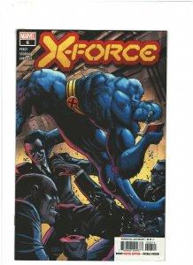 X-Force #6 VF/NM 9.0 Marvel Comics 2020 Wolverine, Domino & Beast 1st Print