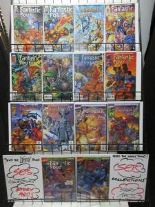 FANTASTIC FOUR (1996) 1,1A,2-13  JIM LEE  complete set!
