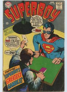 Superboy 148 Jun 1968 VG- (3.5)
