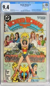 Wonder Woman #1 (1987) CGC Graded 9.4