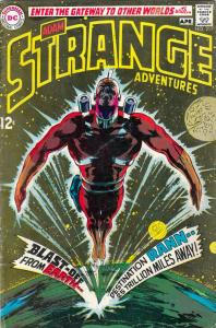 Strange Adventures #217 (Apr-69) FN Mid-Grade Adam Strange, Atomic Knights