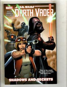 Shadows & Secrets V 2 Vader Star Wars Marvel Comics TPB Graphic Novel Book J347