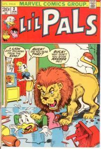 LIL PALS (1972) 3 FINE  Jan. 1973 Buck Duck COMICS BOOK