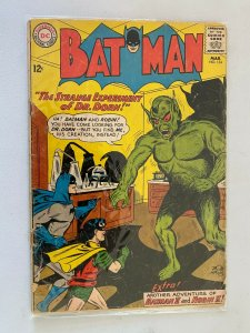 Batman #154 2.0 GD cover detached at one staple (1963)
