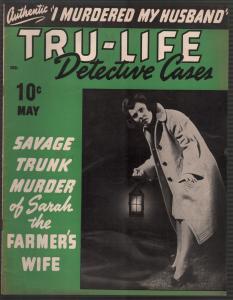 Tru-Life Detective Cases 5/1943-Tayshack-savage murder-horror-crime-mystery-VF