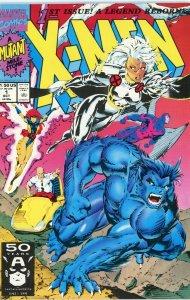 X-MEN #1 (2nd series) Marvel Comics 1991 Chris Claremont Jim Lee