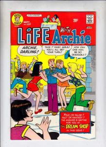 Life with Archie #137 (Sep-73) FN- Mid-Grade Archie, Jughead, Betty, Veronica...