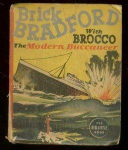 BRICK BRACKFORD #1468-BIG LITTLE BOOK-MODERN BUCCANEER FR