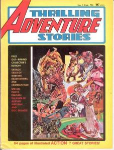 THRILLING ADVENTURE 1 Heath,Thorne 1975 G-VG