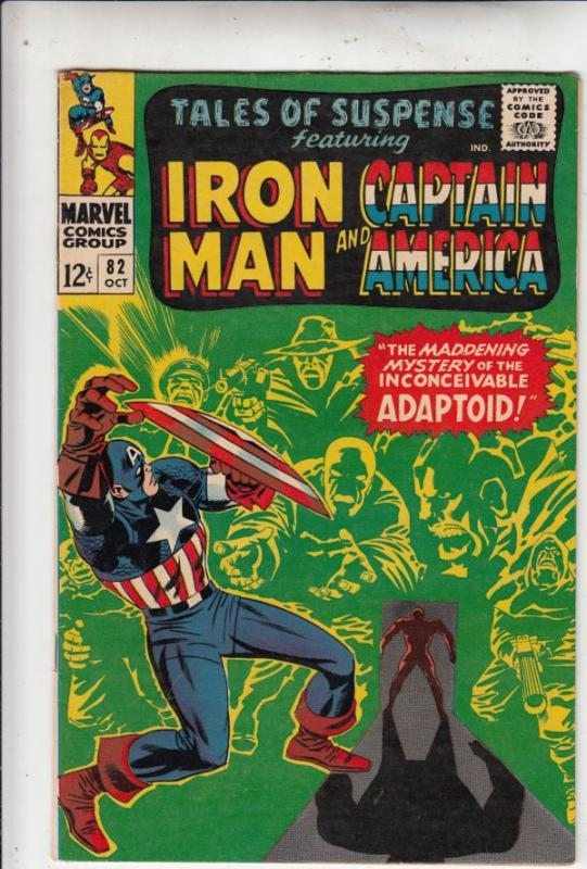 Tales of Suspense #82 (Oct-66) NM/NM- High-Grade Iron Man, Captain America, B...