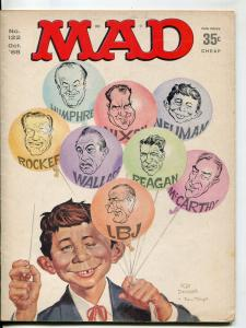 Mad-Magazine-#122-1968-Mort Drucker-Don Martin-David Berg-Norman Mingo