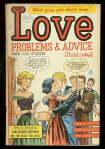 LOVE PROBLEMS #4 1949-LEE ELIAS-HARVEY COMICS-EARLY ISS VG/FN