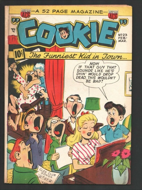 Cookie #23 1950-ACG-Jitterbug appears-Howdy Hail by Clark Haas-Spicy Good G...