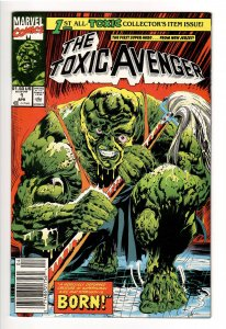 TOXIC AVENGER #1 NM 9.0-9.4;1st APP! KEVIN BACON in MAJOR MOTION PIC! 2022