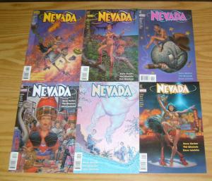 Nevada #1-6 VF/NM complete series - steve gerber - vertigo comics - showgirl set