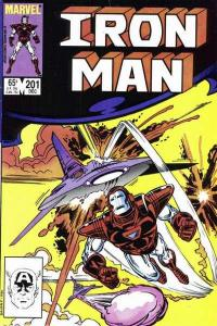 Iron Man (1968 series) #201, VF- (Stock photo)
