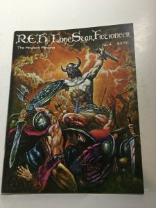 Reh: Lone Star Fictioneer 4 Nm Near Mint Howard Fanzine