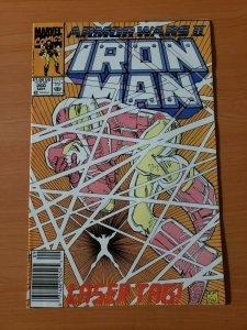Iron Man #260 Newsstand Edition ~ NEAR MINT NM ~ 1990 Marvel Comics