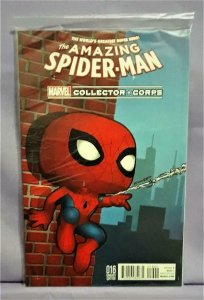Marvel Collector Corps AMAZING SPIDER-MAN #16 Variant Cover (Marvel, 2016)!