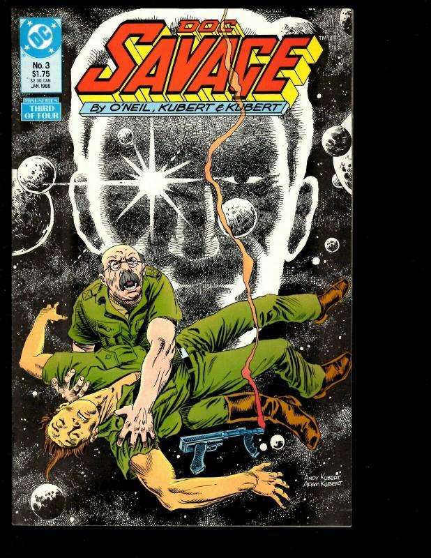 12 Comics Doc Savage # 1 2 3 4 + Discord 1 2 3 5 + Bronze 1 2 3 + Manual 1 JF26