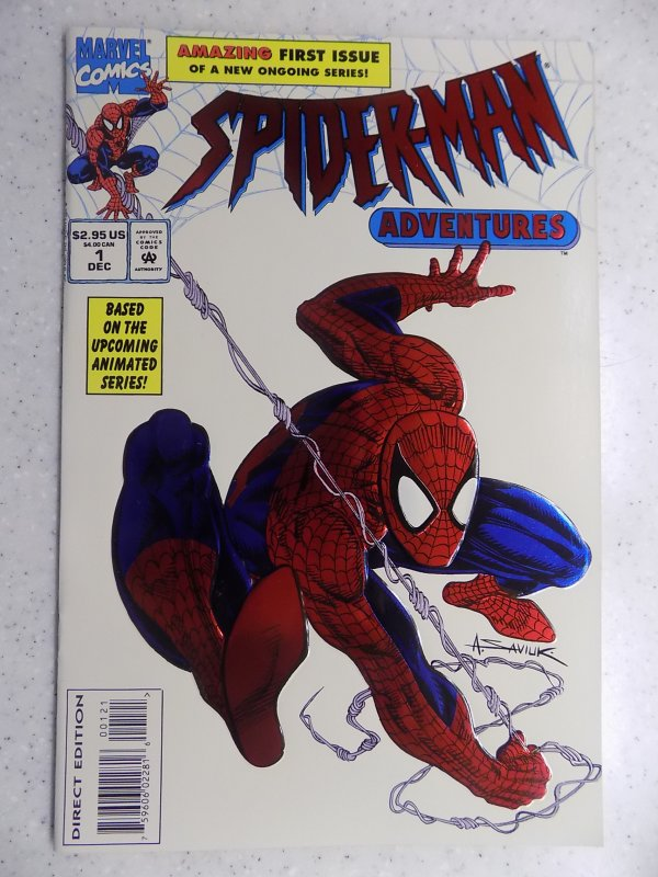 SIDER-MAN ADVENTURES EMBOSSED COVER # 1