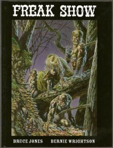 FREAK SHOW, NM, Bernie Wrightson, 1st, Limited, Signed hc, 2005,more BW in store