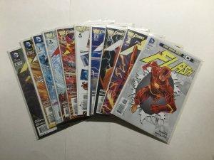 Flash 0 1-12 20-23 Annual 1 2 3 Lot Run Set Near Mint Nm Dc Comics