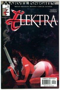 ELEKTRA #2, NM, Sienkiewicz, Sai, Martial Arts, Femme Fatale, 2001,more in store