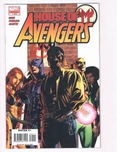 House Of M Avengers # 1 NM Marvel Comics Limited Series Luke Cage Hawkeye S80