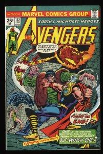 Avengers #132 VF 8.0 Marvel Comics Thor Captain America