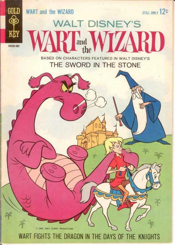 WART & THE WIZARD (1964 GOLD KEY) 1 FINE 1963 COMICS BOOK