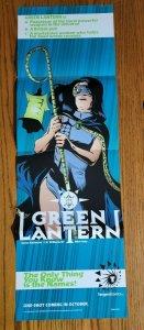 11 x 34 Tangent Green Lantern Promo Poster NO PIN HOLES NEW