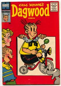 Dagwood #64 1956- bicycle cover- VF+