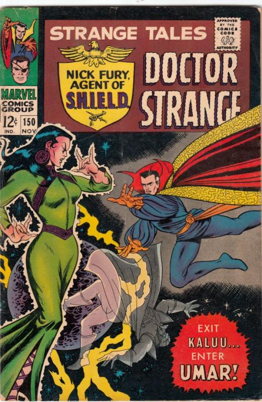 Strange Tales #150 (Nov-66) VG+ Affordable-Grade Nick Fury, Dr. Strange