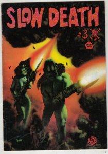 Slow Death 3 Strict VF/NM Cover Richard Corben 1st on this series Artist Jaxon