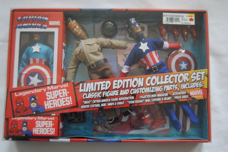 Capt. America,Legendary Marvel Super-heroesLimited Edition Collector Set