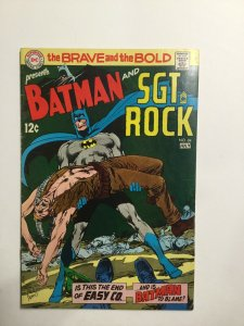 Brave And The Bold 84 Very Fine- Vf- 7.5 Water Damage Dc Comics