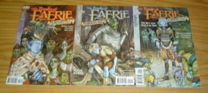 Books of Faerie: Auberon's Tale #1-3 VF/NM complete series - vertigo set lot 2