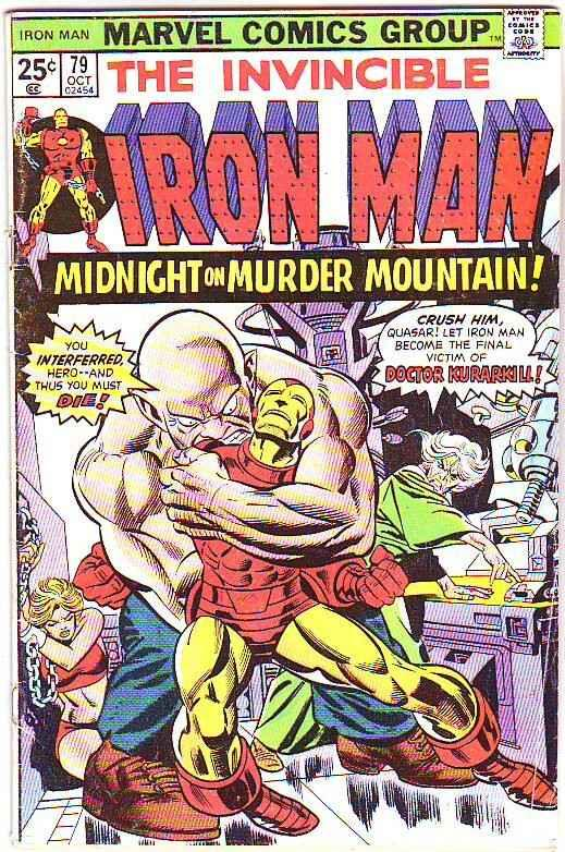 Iron Man #79 (Mar-75) VG Affordable-Grade Iron Man