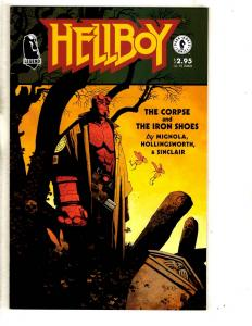 Hellboy The Corpse & The Iron Shoes Dark Horse Comics Graphic Novel NM TD6
