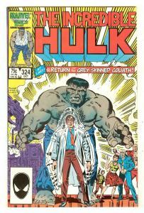 Incredible Hulk 324   Return of the Grey Hulk
